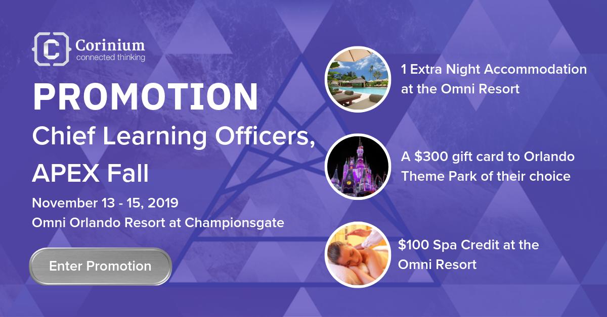CLO APEX Fall 2019 Promotion